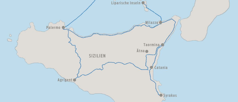 Sizilien Karte ätna.Sizilien Zwischen Feuer Und Erde Busreise Italien Sizilien